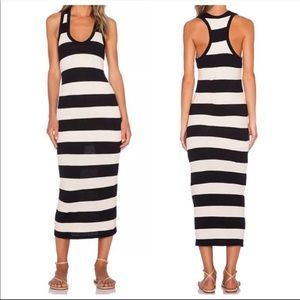 NWT James Perse striped maxi dress size 1 small